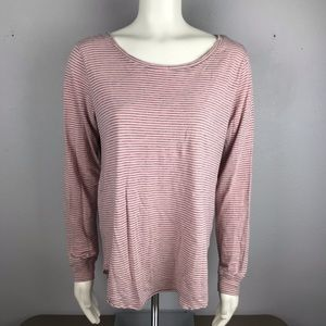 Junk Food Clothing PS I Love You Pink Long Sleeve